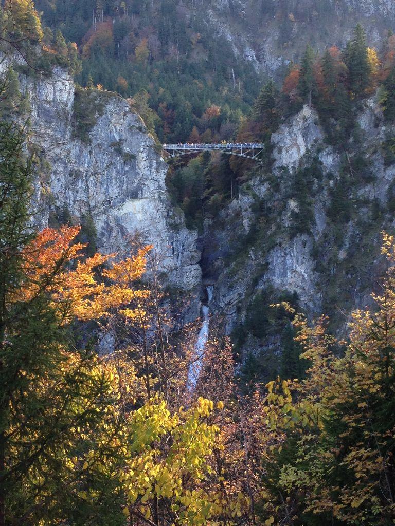 Marienbrücke beim Schloss Neuschwanstein