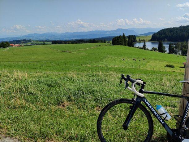 Radrunde Allgäu mit dem Rennrad