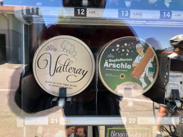 La Valleray statt Camenbert