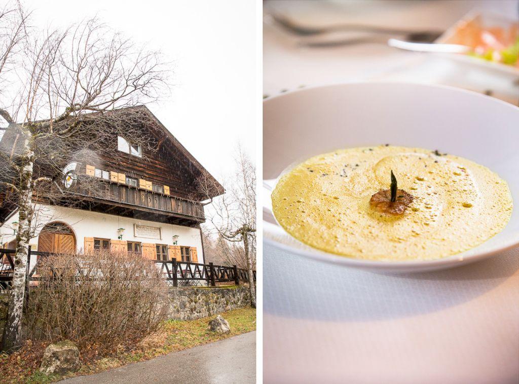 Restaurant am Alatsee in Füssen im Allgäu.