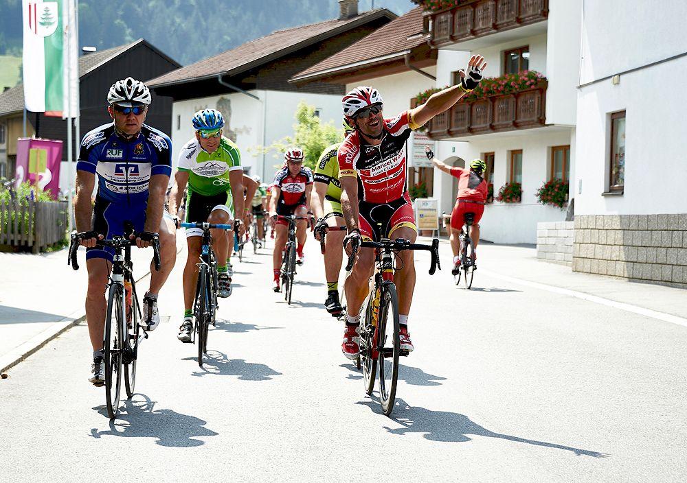 Rennrad-Sport vom Feinsten im Tannheimer Tal