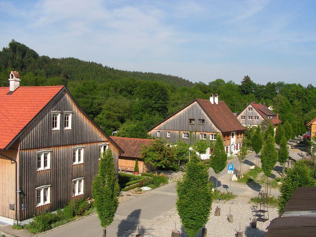 Glasmacherdorf Schmidsfelden im Allgäu