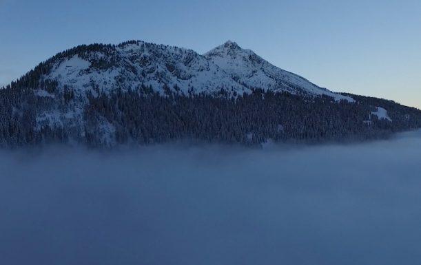 Krinnenspitze vor dem Sonnenaufgang
