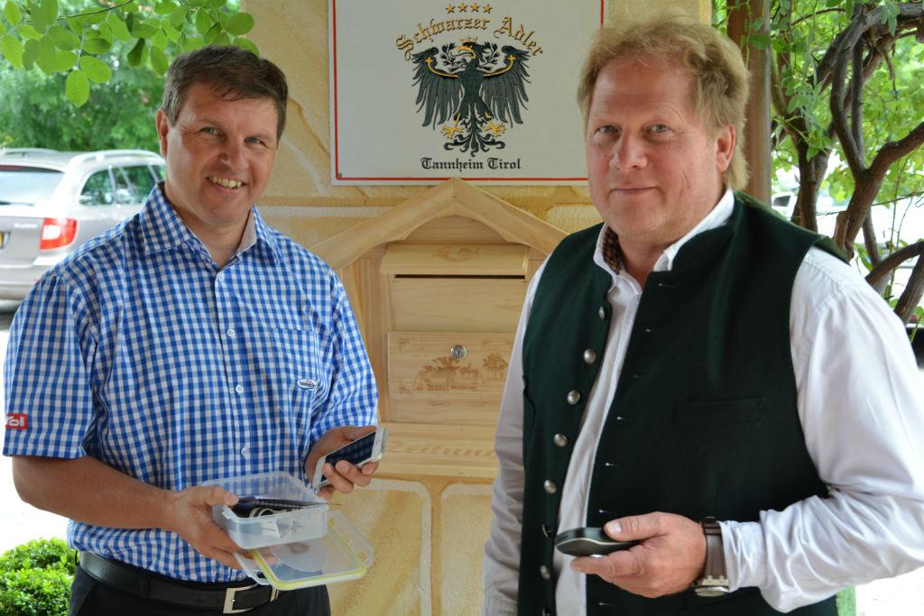 Attraktive Geocaching Routen des Hotel Schwarzer Adler erschließen neue Gäste