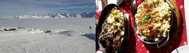 Skifahren Hütteneinkehr