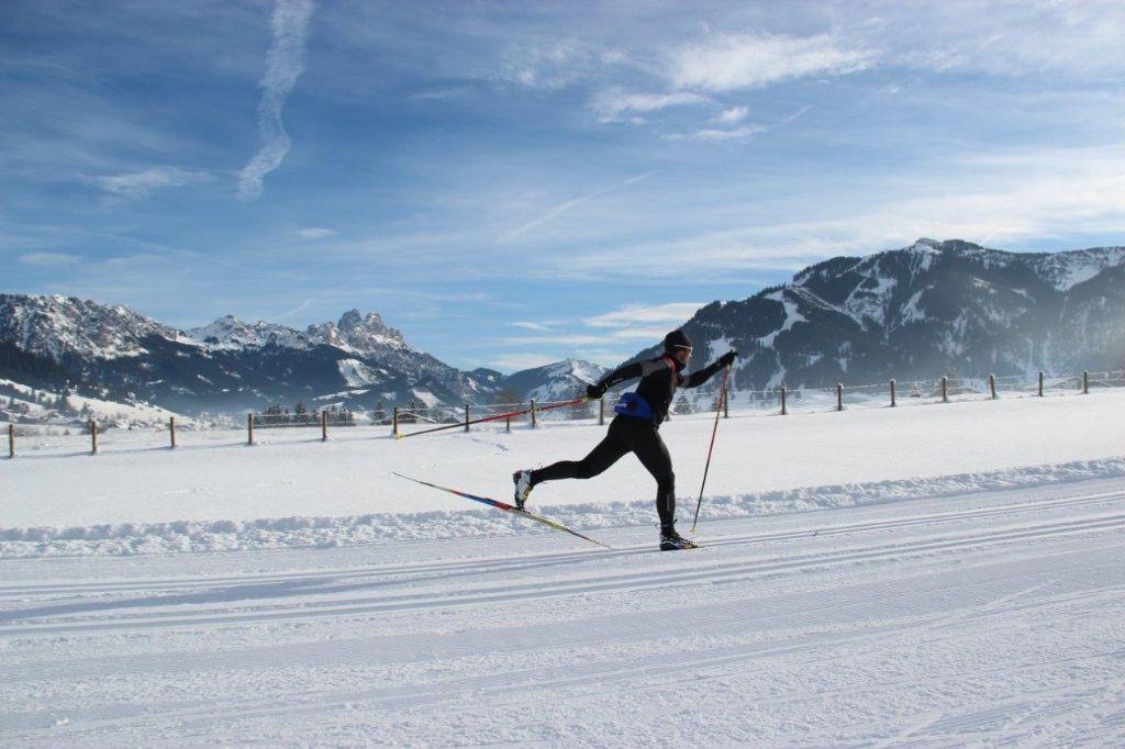Langlauf im Tannheimer Tal mit Peter Schlickenrieder zum Ski-Trail Tannheimer Tal - Bad Hindelang