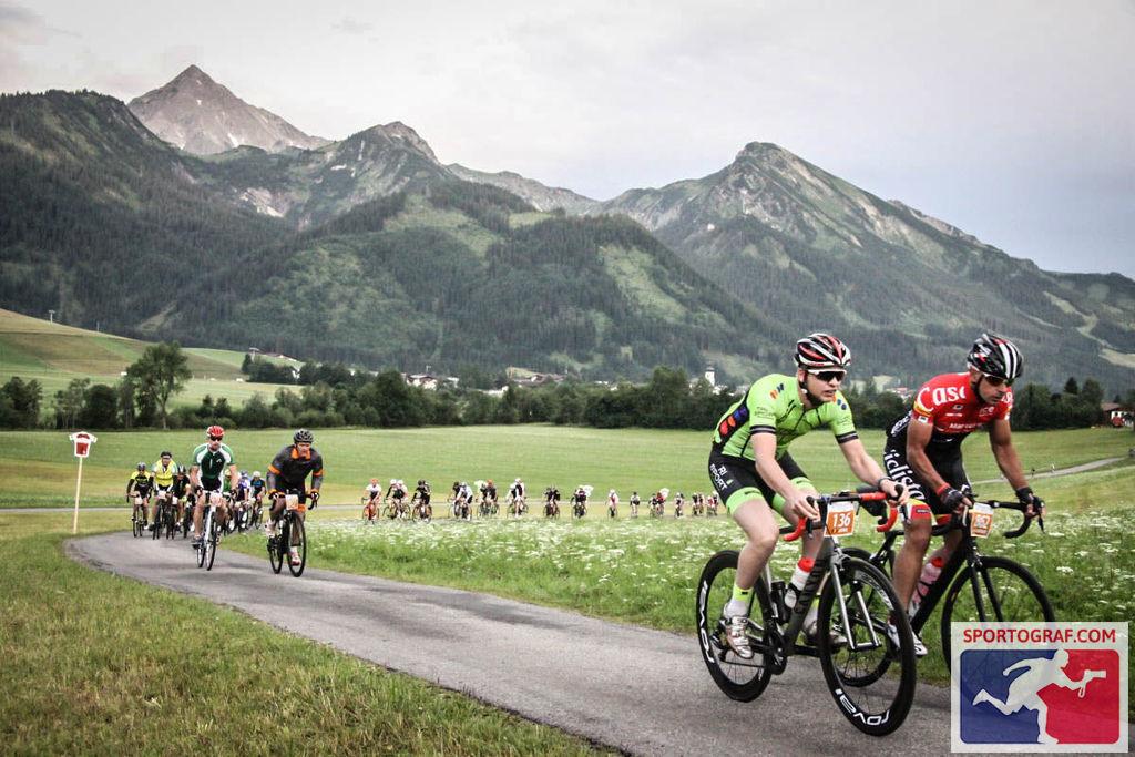Beim Rad-Marathon durch das Tirol und Allgäu. Foto: Sportograf