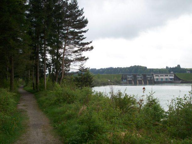 Staumauer des Premer Lechsees
