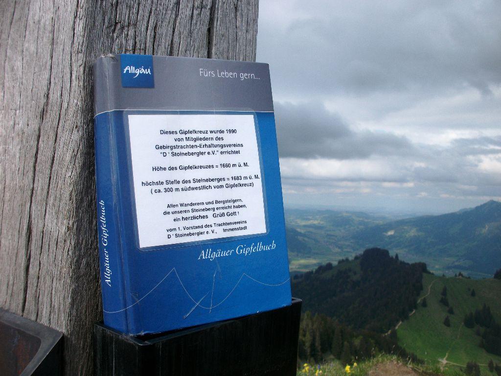 Steineberg-Gipfelbuch