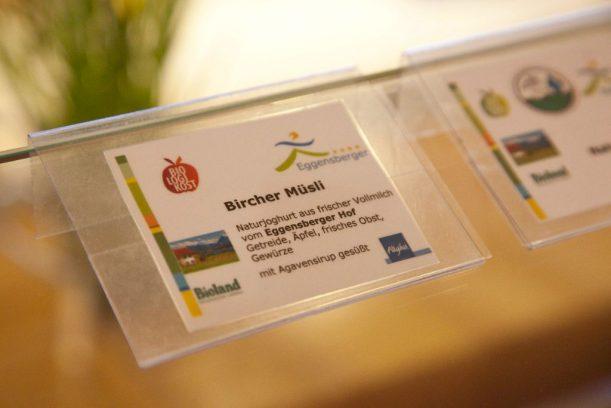 Stoffwechsel umstellen mit Gerichten ohne Kohlenhydrate im Biohotel Eggensberger