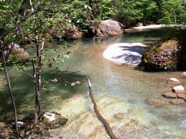 Auf der Wanderroute: Tobelidylle bei Gunzesried