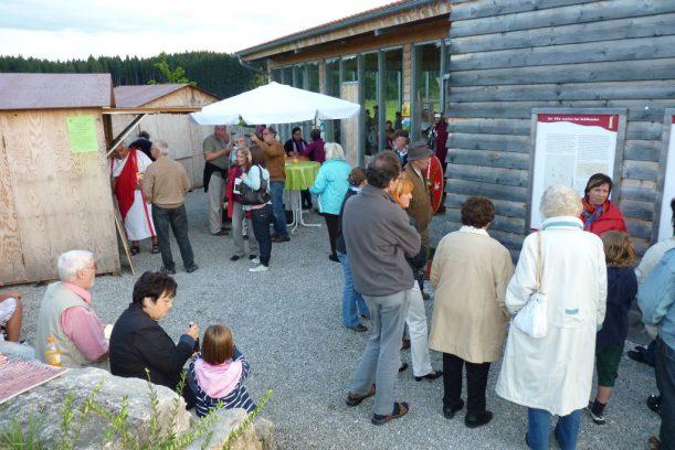 """Immer ein Treffpunkt: das """"Römerbad"""" von Marktoberdorf-Kohlhunden"""