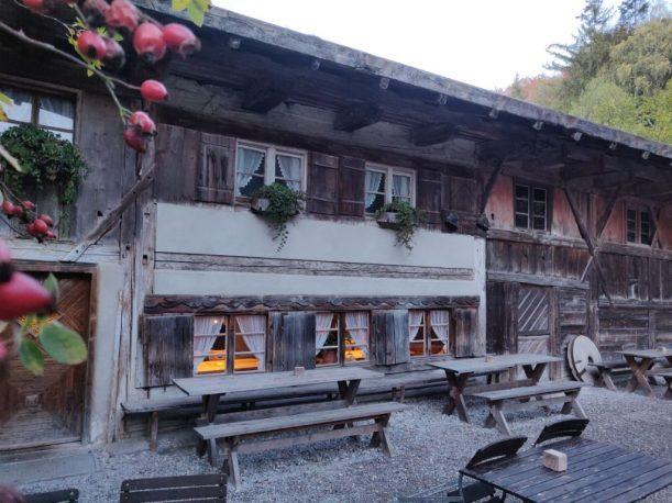 Katzbrui-Mühle, älteste Getreidemühle Bayners aus dem 17. Jahrhundert