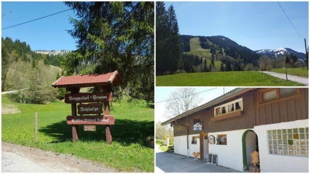 Wanderung zu Buhl's Alpe