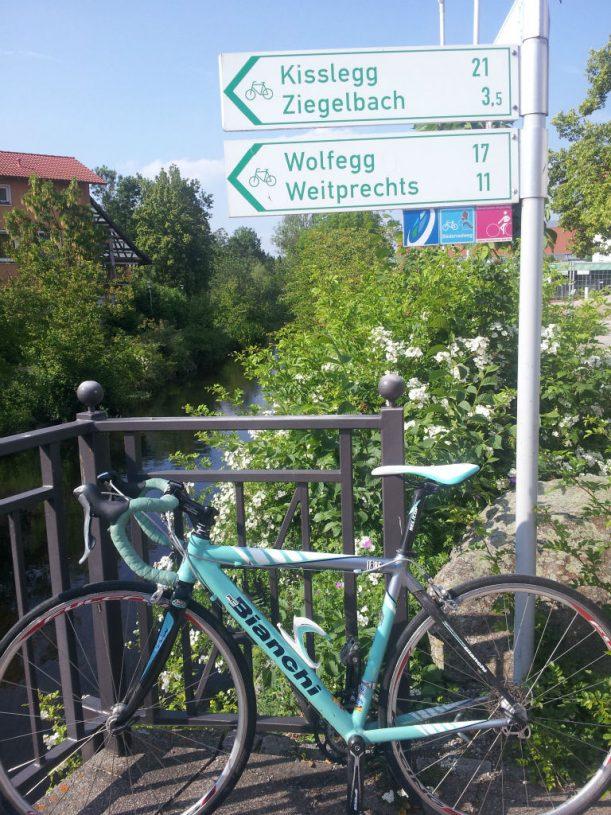 Mitten in Bad Wurzach.