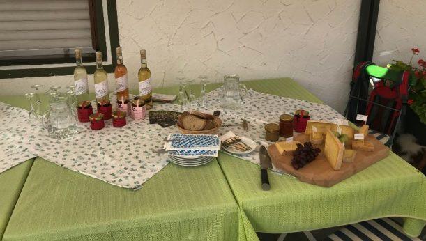 Wein- und Käseverkostung