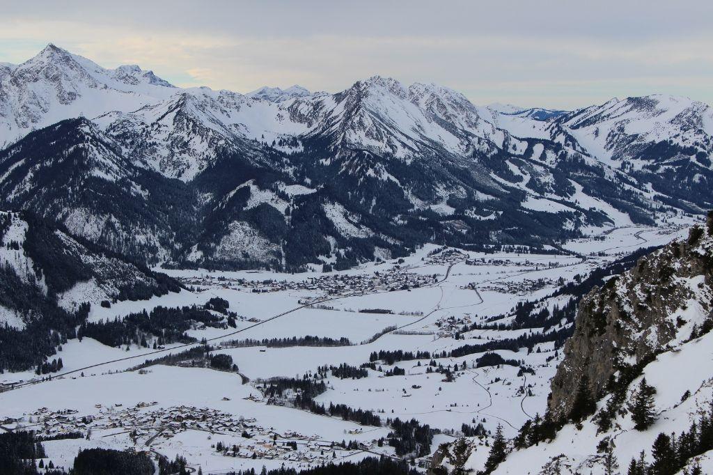 Winter-Wandern im Tannheimer Tal